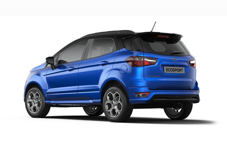 Ford EcoSport SUV 2WD 1.0 T EcoBoost 140PS ST-Line 5Dr Manual [Start Stop] back view