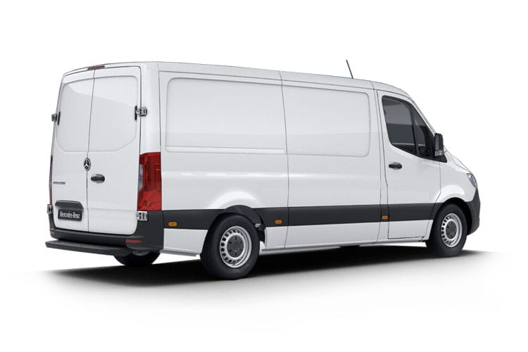 Mercedes-Benz Sprinter 311 L4 3.5t 2.1 CDi RWD 114PS  Van Extra High Roof G-Tronic+ back view