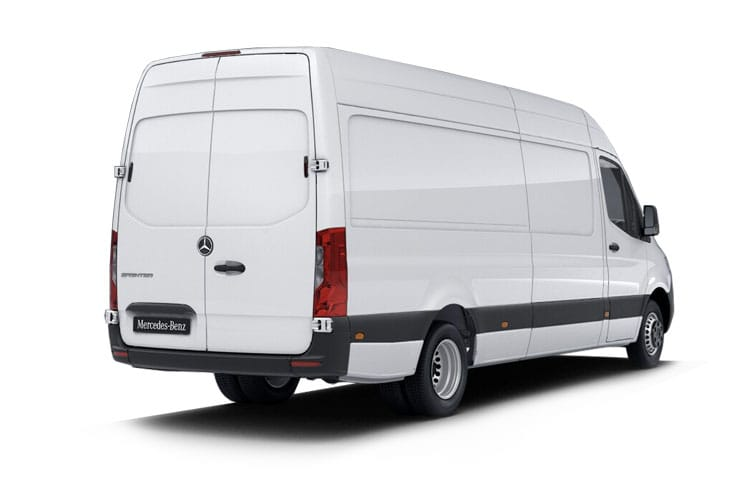 Mercedes-Benz Sprinter 317 L2 3.5t 2.0 CDi RWD 170PS Progressive Van High Roof G-Tronic [Start Stop] back view