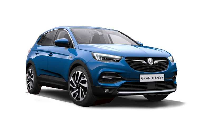 Vauxhall Grandland X SUV 1.5 Turbo D 130PS SRi Nav 5Dr Manual [Start Stop] front view
