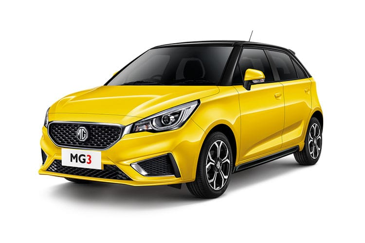 MG Motor UK MG3 Hatch 5Dr 1.5 VTi-TECH 106PS Explore 5Dr Manual [Start Stop] front view