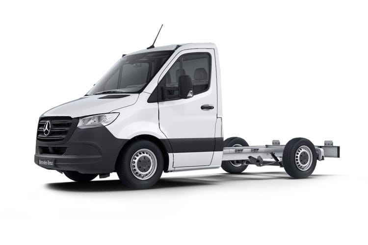 Mercedes-Benz Sprinter 314 L2 3.5t 2.1 CDi RWD 143PS Progressive Chassis Cab Manual [Start Stop] front view
