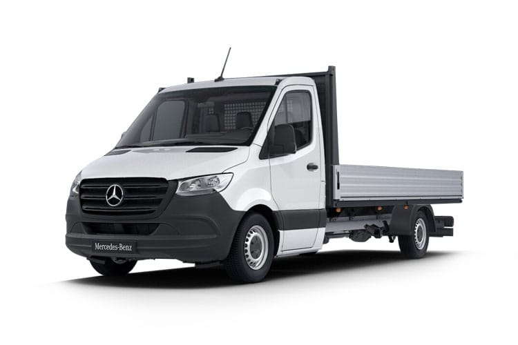 Mercedes-Benz Sprinter 314 L1 3.5t FWD 2.1 CDi FWD 143PS  Dropside Manual front view