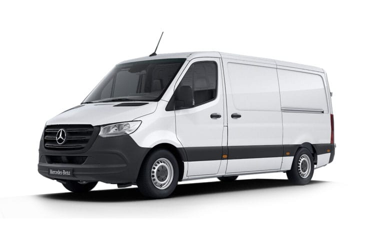Mercedes-Benz Sprinter 311 L4 3.5t 2.1 CDi RWD 114PS  Van Extra High Roof G-Tronic+ front view