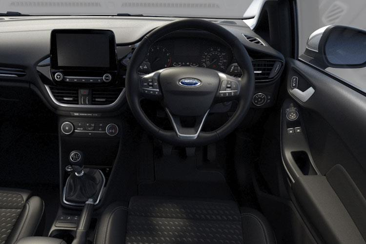Ford Fiesta Hatch 3Dr 1.0 T EcoBoost MHEV 155PS ST-Line Edition 3Dr Manual [Start Stop] inside view