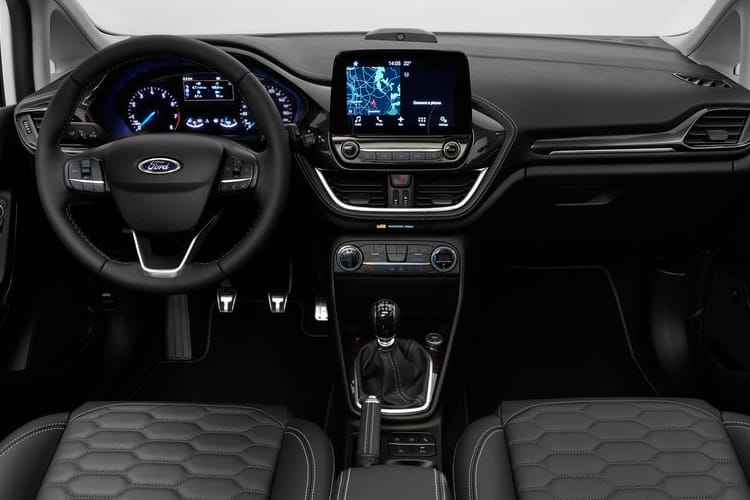 Ford Fiesta Hatch 5Dr 1.0 T EcoBoost 125PS Active X Edition 5Dr DCT [Start Stop] inside view