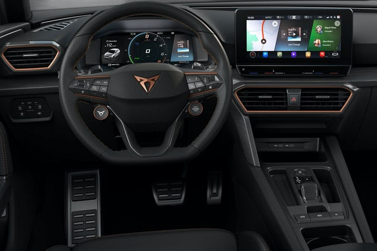 CUPRA Leon Estate 1.4 eHybrid PHEV 12.8kWh 245PS VZ3 5Dr DSG [Start Stop] inside view