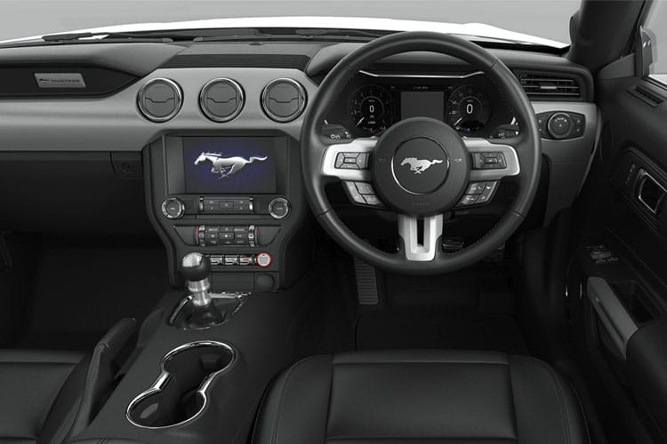 Ford Mustang Convertible 5.0 V8 450PS GT 2Dr SelShift [Custom Pack 3] inside view