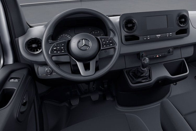 Mercedes-Benz Sprinter 314 L1 3.5t FWD 2.1 CDi FWD 143PS  Dropside Manual inside view